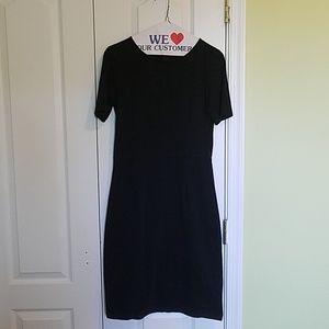 J. Crew black pencil dress